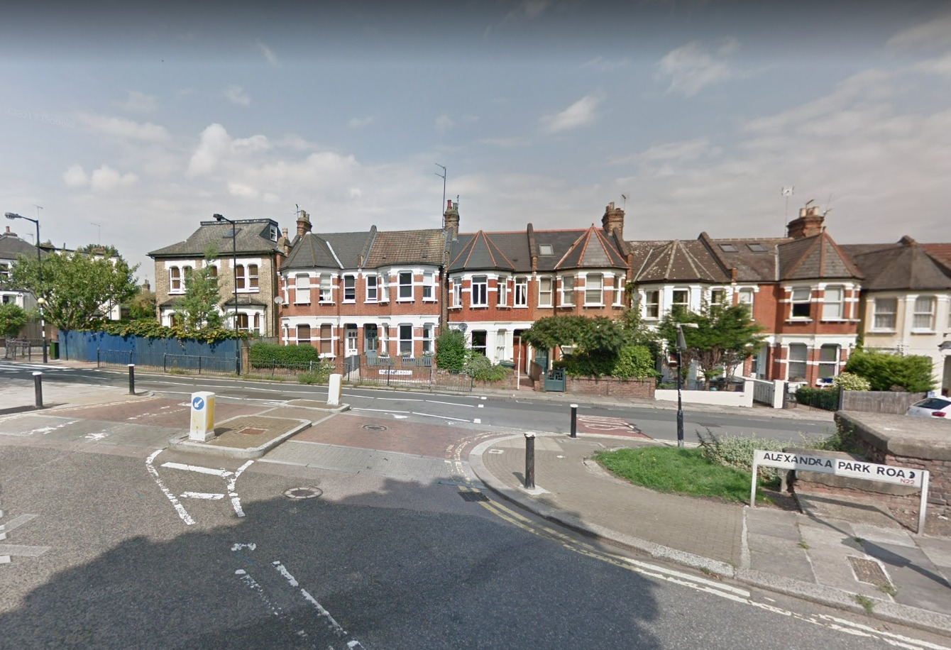 Houses in the west of Haringey (photo: Google Maps)