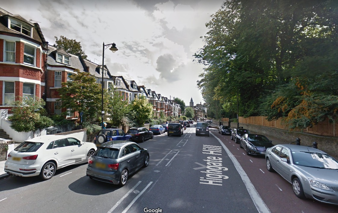 Highgate Hill (Photo: Google Maps)