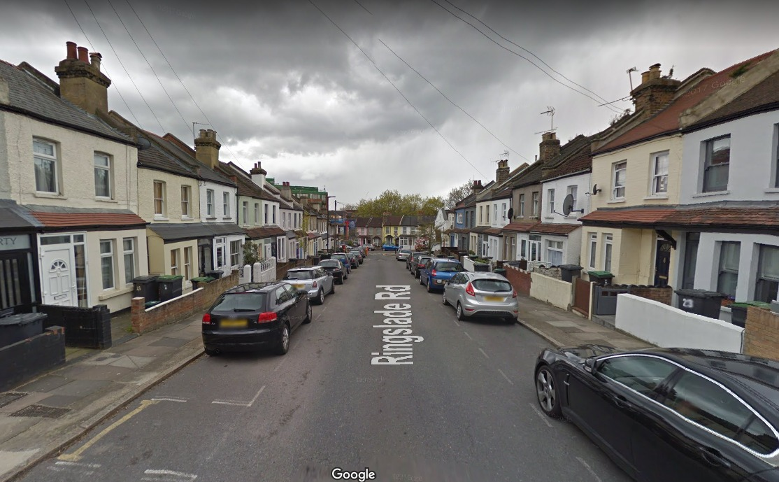 Ringslade Road, Haringey (Photo: Google Maps)