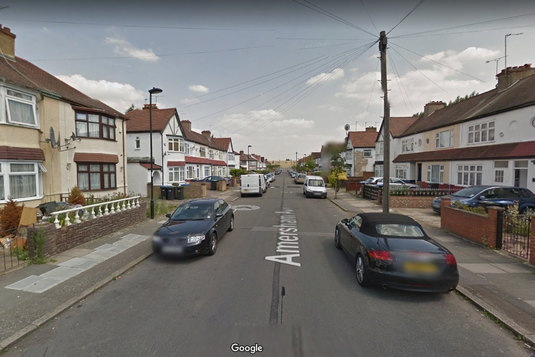 Amersham Avenue (Google Maps)