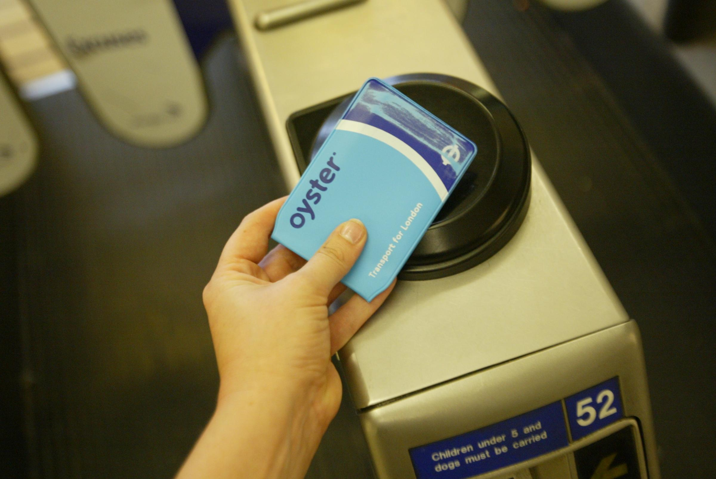 Oyster cards were introduced in 2003