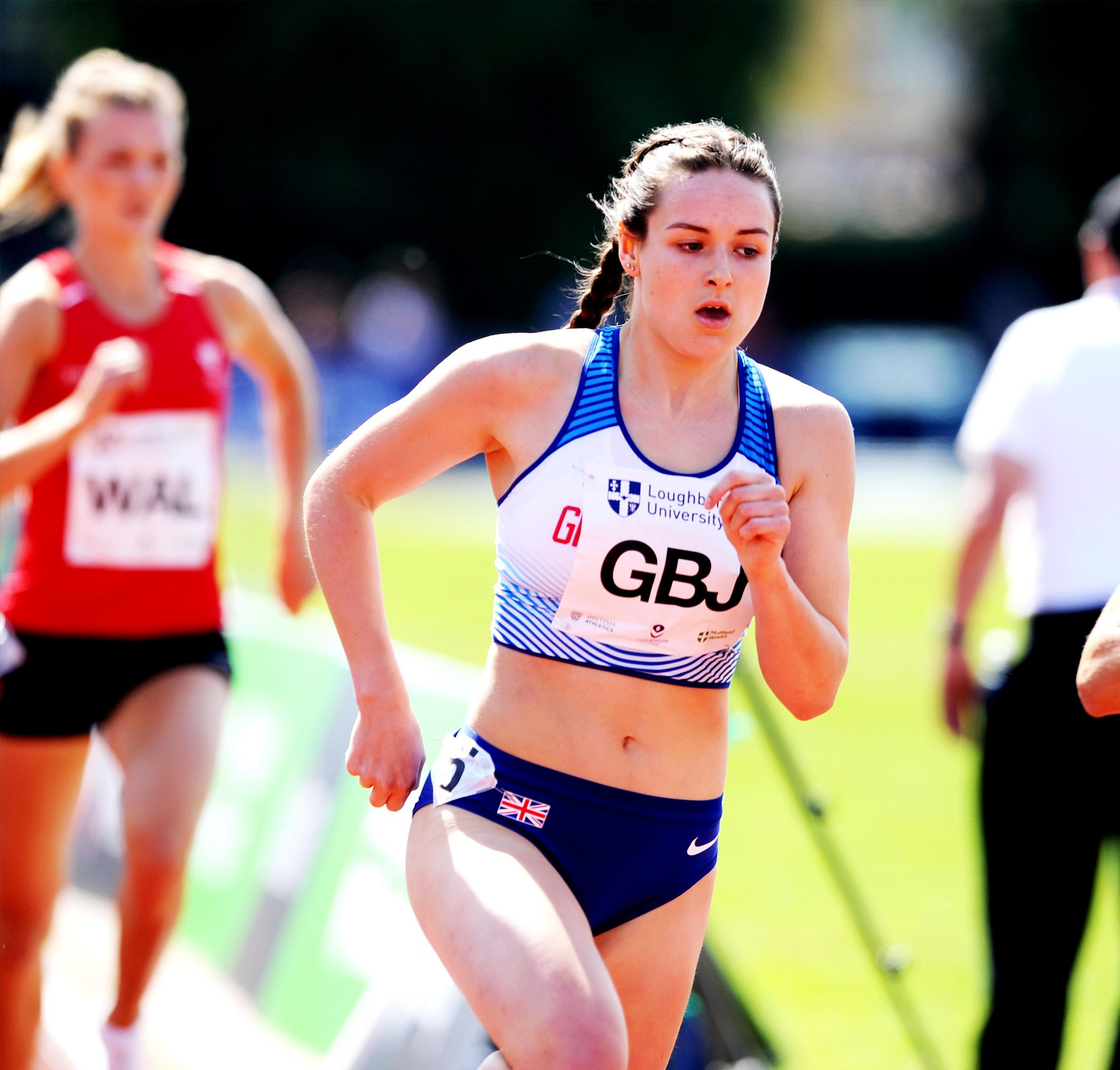 Enfield's Isabelle Boffey is hoping to impress Team GB coaches at the  IAAF World Junior Championships this week. Picture: Mark Shearman.