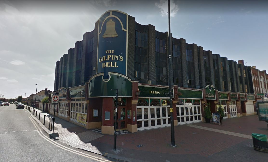 The Gilpin's Bell pub (Google Maps)