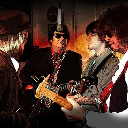 Roy Orbison and the Traveling Wilburys,Millfield,Enfield,London,tribute