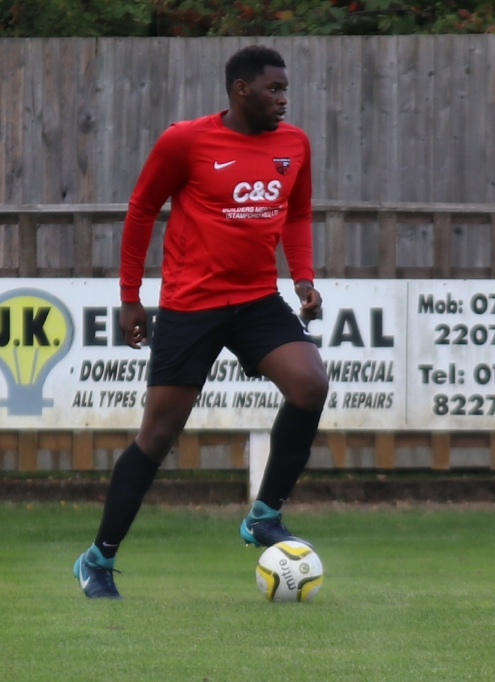 Brian Tshibangu scored twice on an otherwise disappointing day for Enfield Borough.