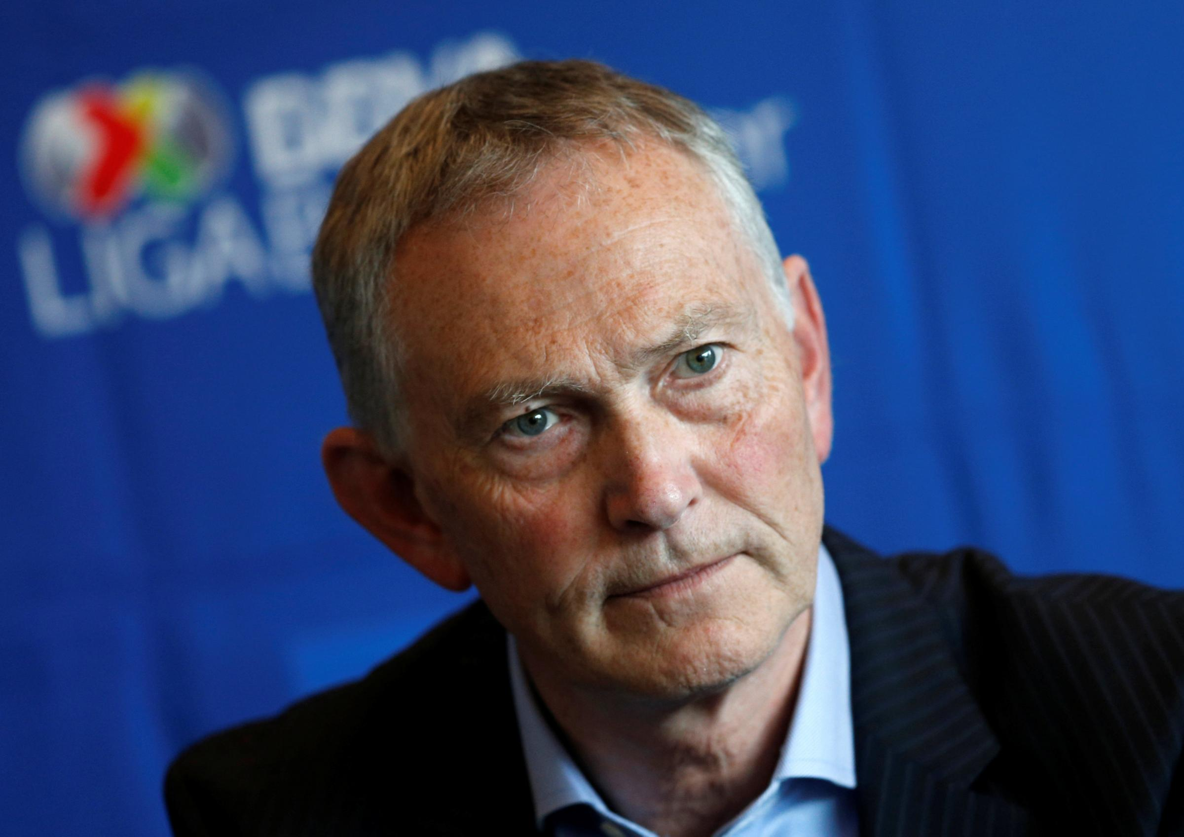 Richard Scudamore is stepping down as the Premier League's executive chairman. Picture: Action Images