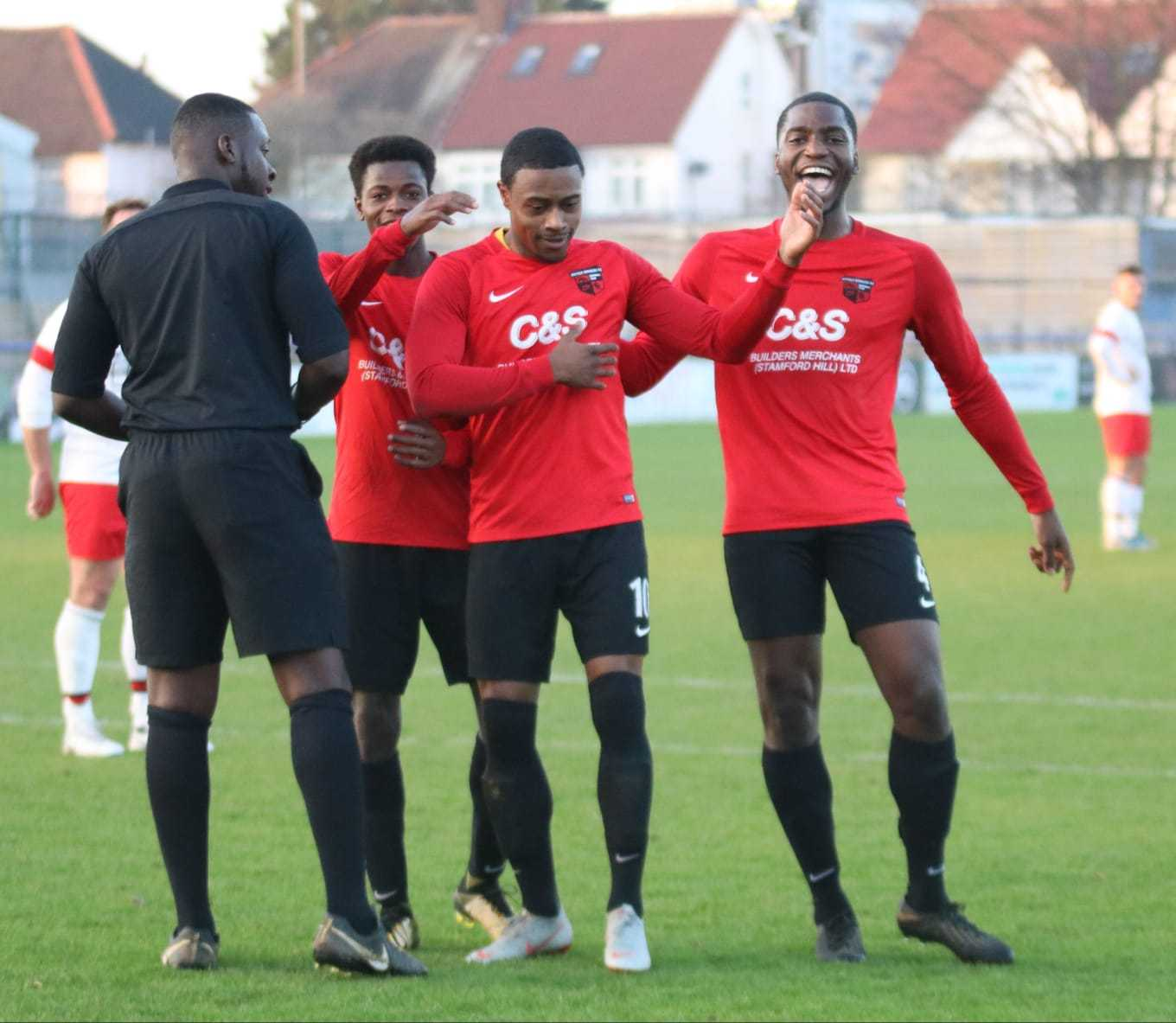 Borough were back among the goals on Saturday. Picture: Ayana Images