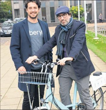 Council staff trialled a new dockless bike service