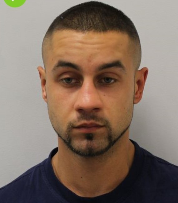 Darius Lapinski has been jailed for 14 years. Picture credit: Met Police