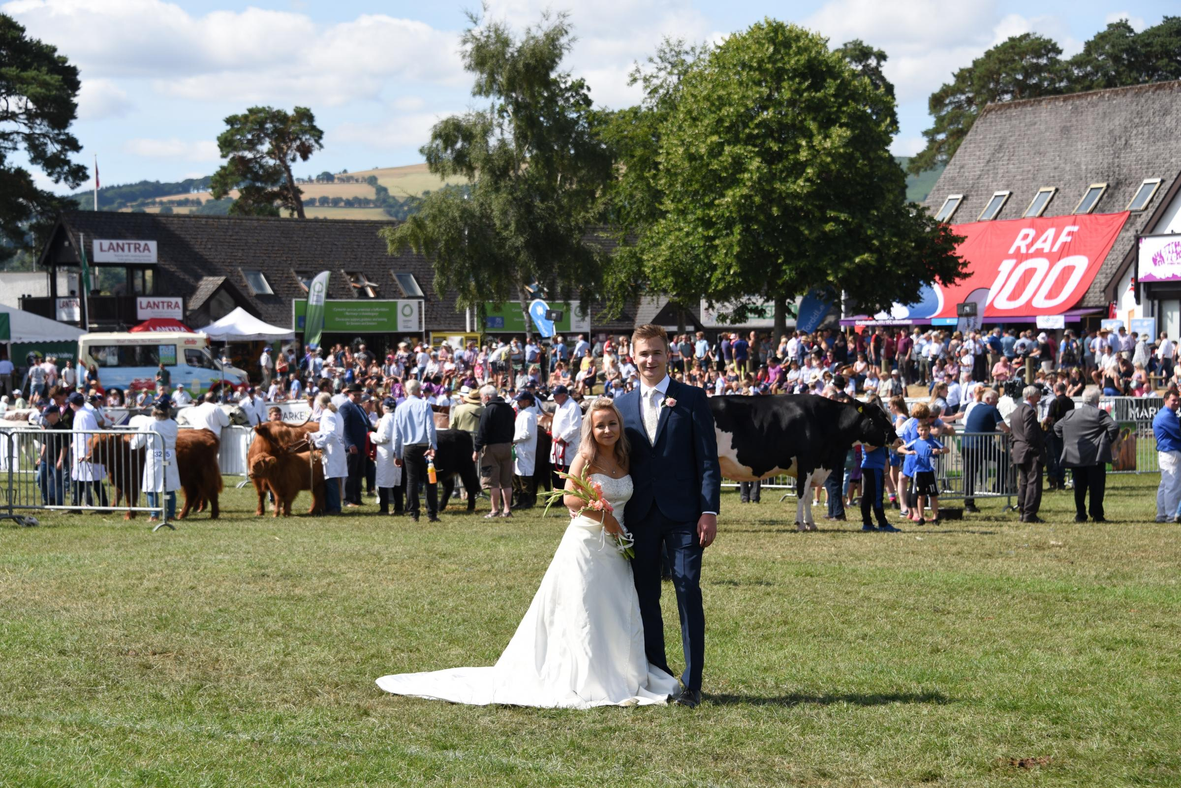 Fancy getting married at this year's Royal Welsh Show?