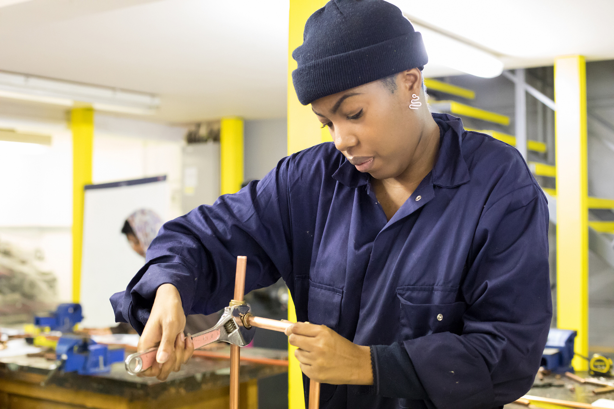 The programme aims to Boost the number of skilled workers and opportunities in construction, particularly for women and those from black and ethnic minorities
