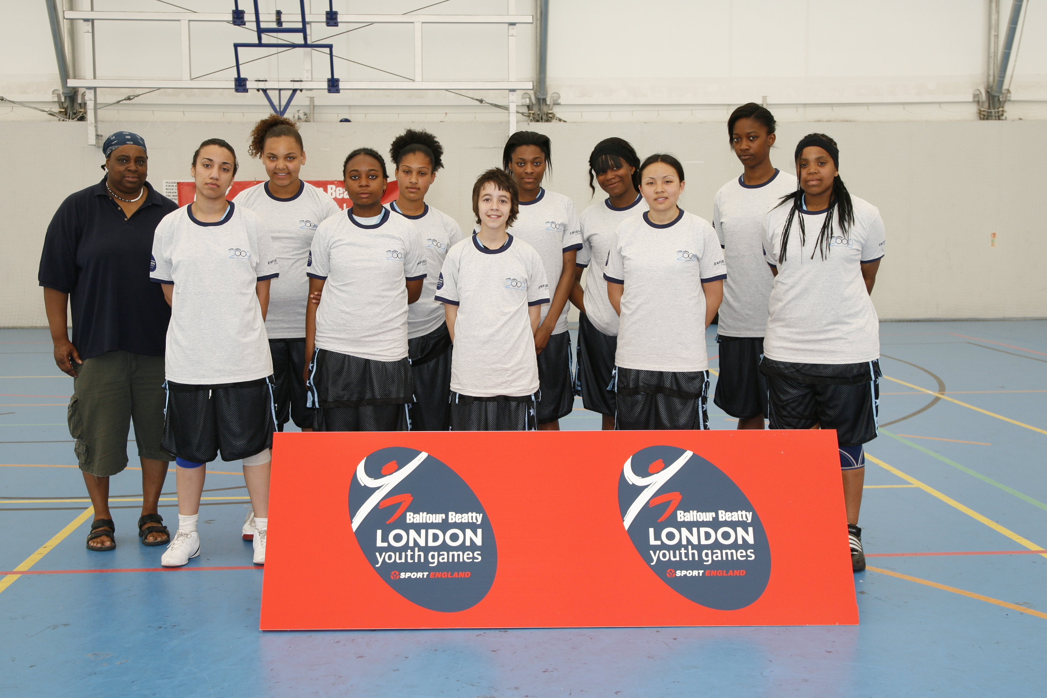 Enfield's basketballers