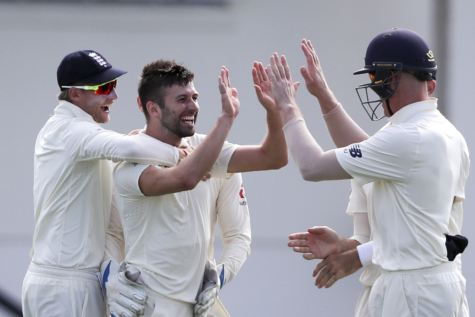 Mark Wood helped put West Indies on the back foot