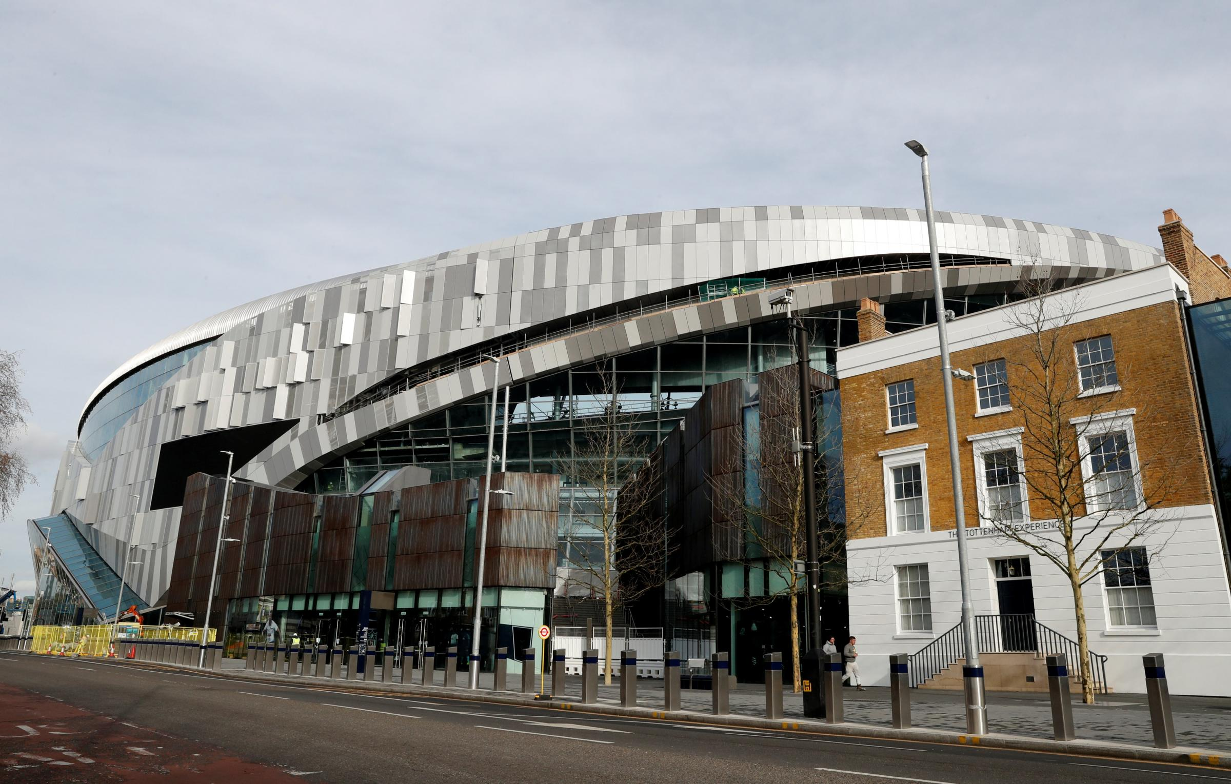 Spurs' new stadium will host its first test event on Sunday. Picture: Action Images