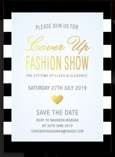 COVER UP FASHION SHOW (CUFS) 27.7.2019