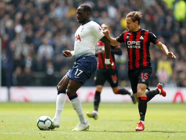 Moussa Sissoko is among those still sidelined for Spurs. Picture: Action Images