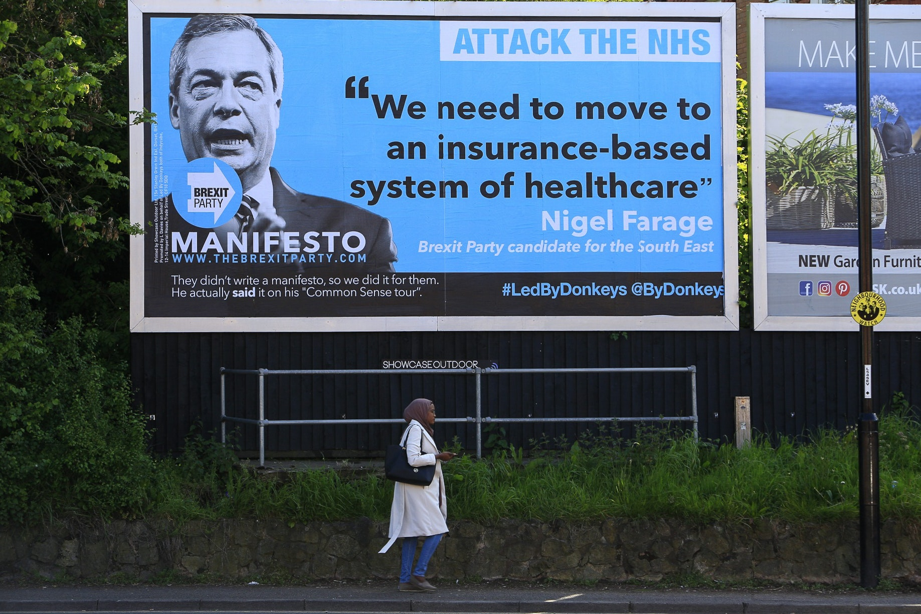 Anti-Brexit billboard