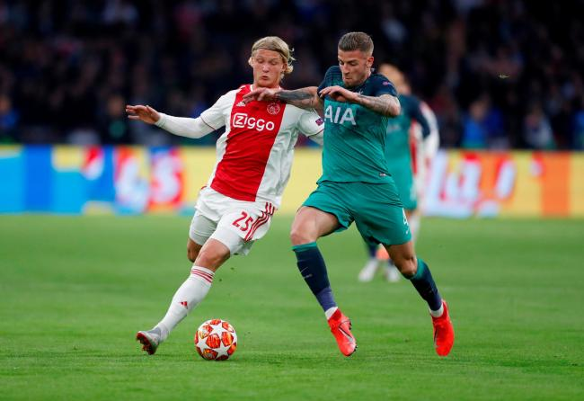 Toby Alderweireld in action during Spurs' remarkable semi-final victory over Ajax. Picture: Action Images
